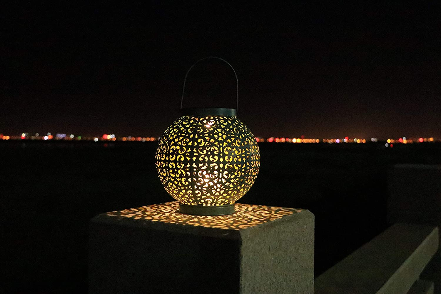 Free Amazon Promo Code 2020 for Solar Table Lights Outdoor Solar Powered Metal Ball