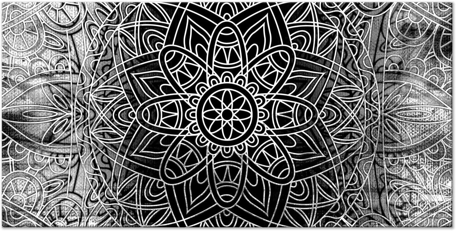 murando Cuadro Mega XXXL Mandala 160x80 cm Cuadro en Lienzo en Tamano XXL Estampado Grande Gigante Imagen para Montar por uno Mismo Decoración De ...