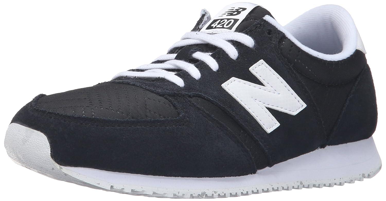 New Balance Women's 420 Prep Pack Lifestyle Sneaker 40 EU Black/White