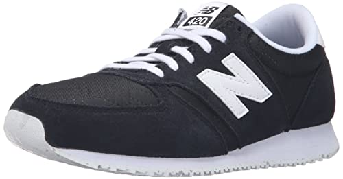 9b7ae5421185 Image Unavailable. Image not available for. Colour  new balance Women s 420  Black and White Sneakers ...