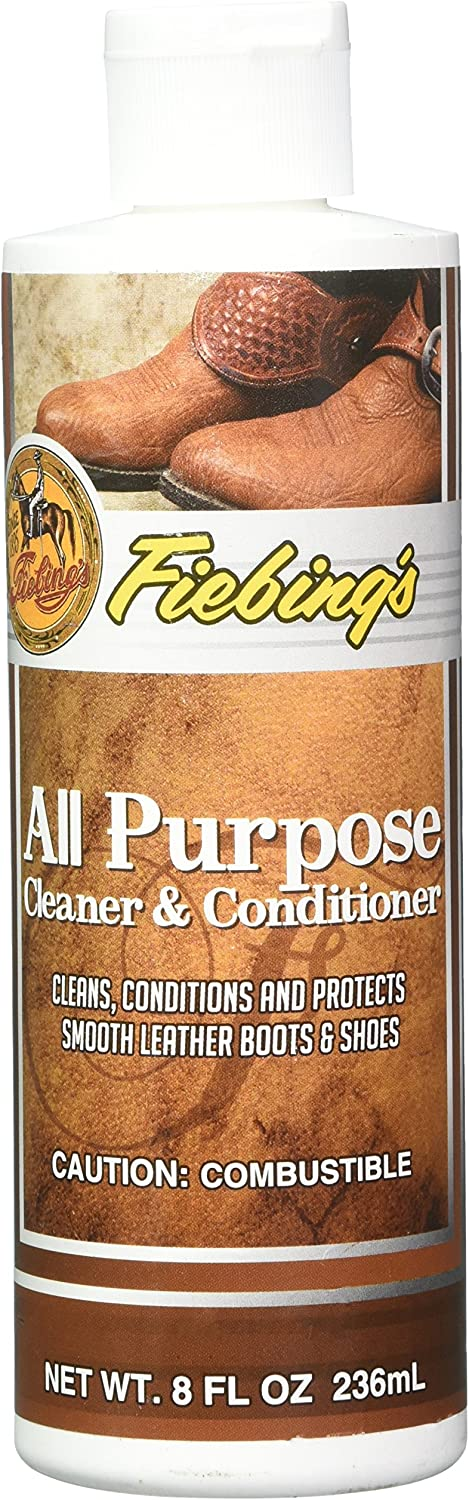 Fiebing's All-Purpose Leather Cleaner and Conditioner - 8 Ounces