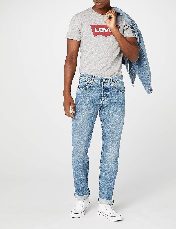 343da9a9e11 Levi's Men's 501 Soriginal Fit Straight Jeans, Blue (Crosby 2465), W32/L30:  Amazon.co.uk: Clothing