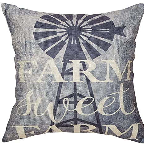 Amazon.com: Athena Bacon Farm Sweet Farm Funda de almohada ...