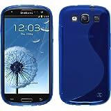 PhoneNatic Custodia Samsung Galaxy S3 Neo S-Style blu Cover Galaxy S3 Neo in silicone + pellicola protettiva