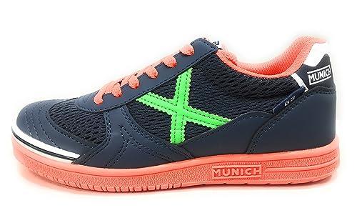 Munich G-3 Kid Indoor, Zapatillas de Deporte Unisex para Niños: Amazon.es: Zapatos y complementos