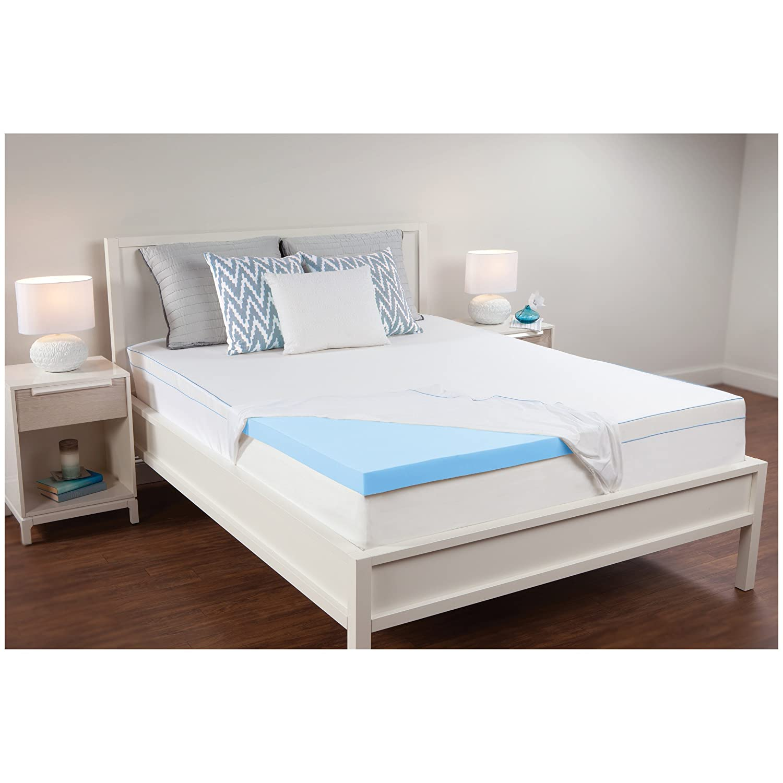 sweetnight size inch foam cool memory gel certified certipur mattress queen product us