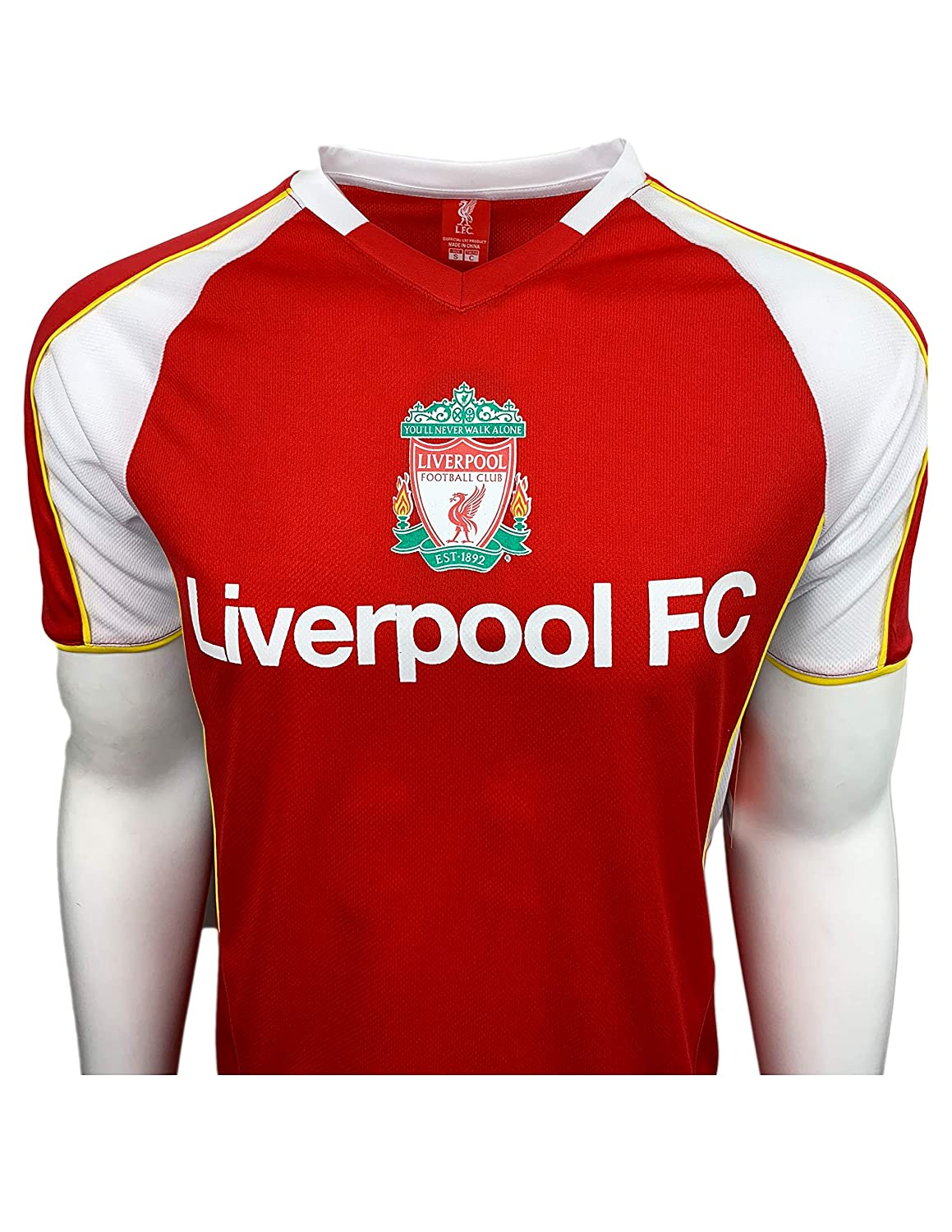 official photos 73ffc 54980 Liverpool FC Training Jersey for Kids and Adults, Officially Licensed  Training Performance Jersey, Shirt