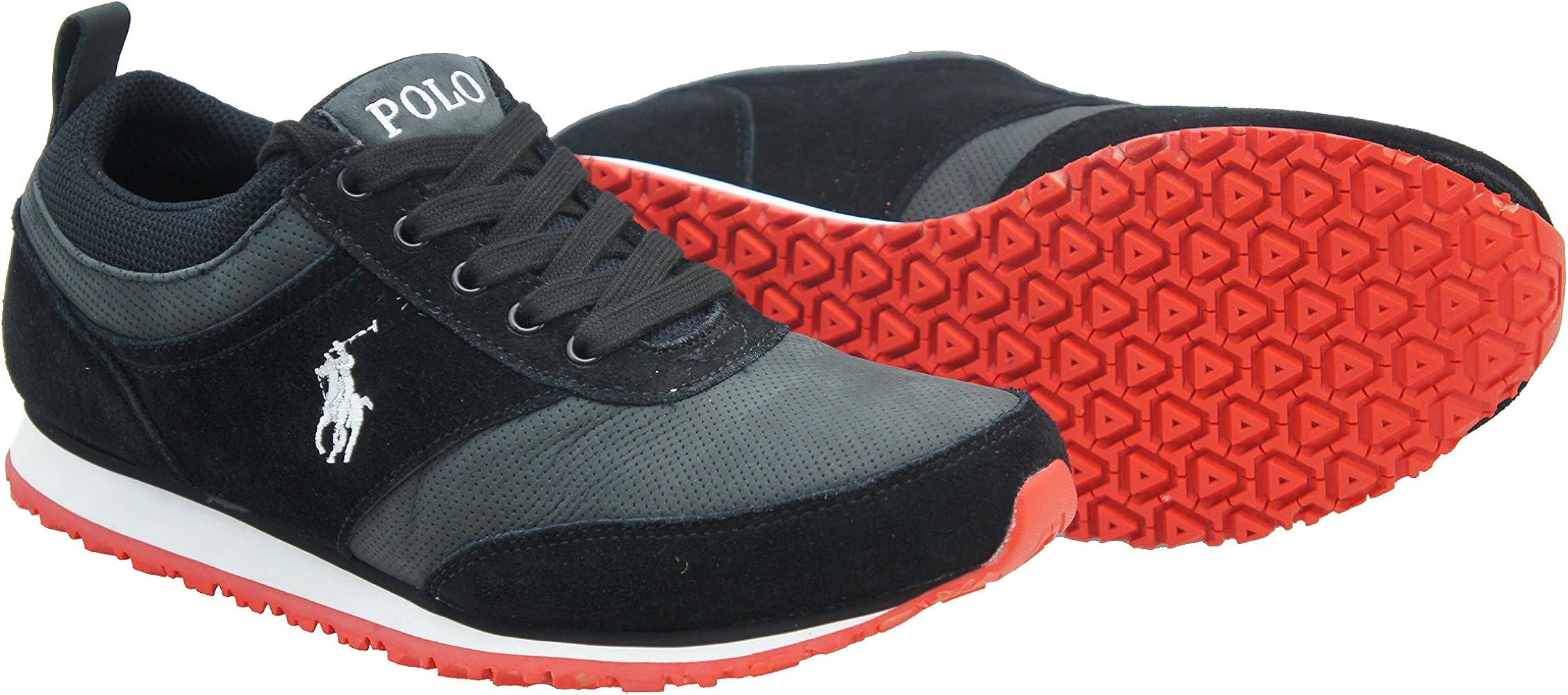 Ralph Lauren Portland, negro (Noir - Noir), 45: Amazon.es: Zapatos ...