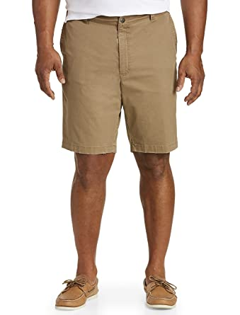 1056a17cbf True Nation by DXL Big and Tall Stretch Twill Shorts at Amazon Men's  Clothing store: