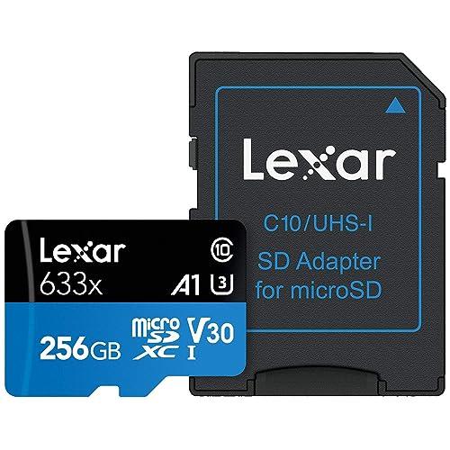 Tarjeta Lexar High Performance 256GB 633x microSDXC UHS I LSDMI256BBEU633A