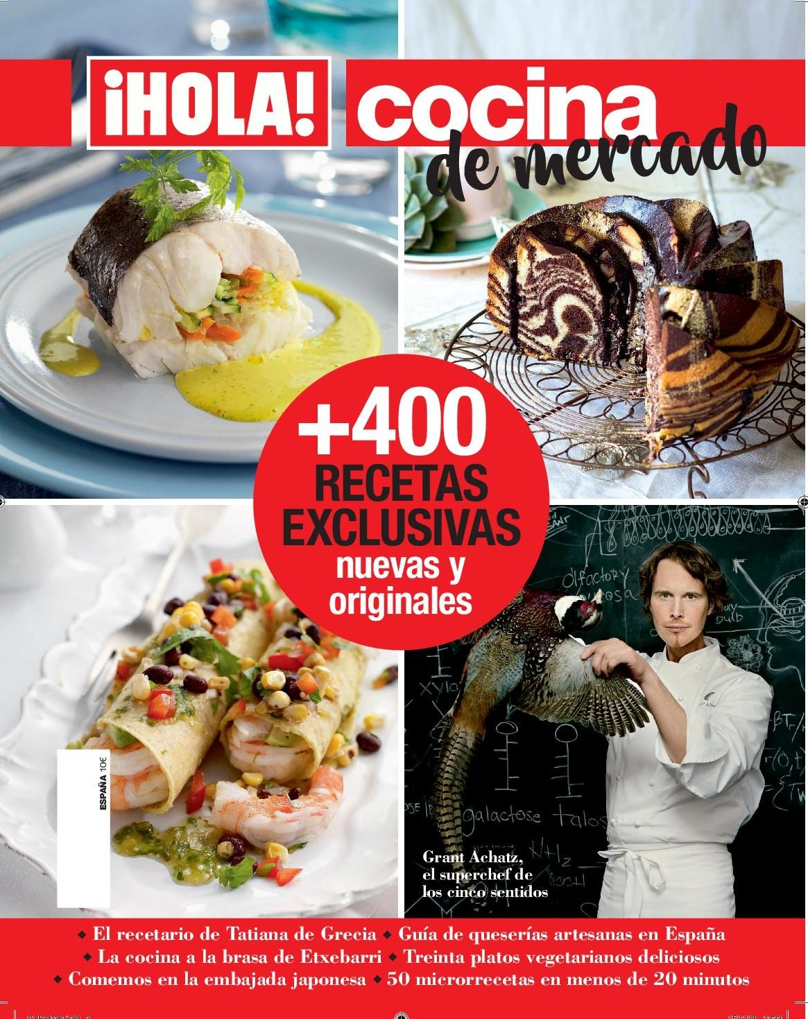 Hola! Cocina. 400 recetas exclusivas nuevas y originales: Amazon.es: Grupo Hola, Grupo Hola: Libros