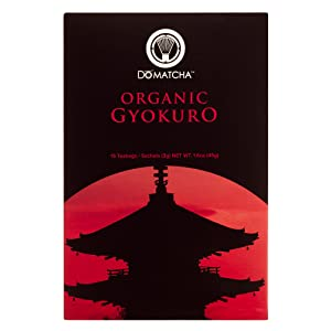 DoMatcha - Organic Gyokuro, Authentic Japanese Green Tea with Natural Notes of Sweetness, Gluten Free and Kosher, 15 Sachets