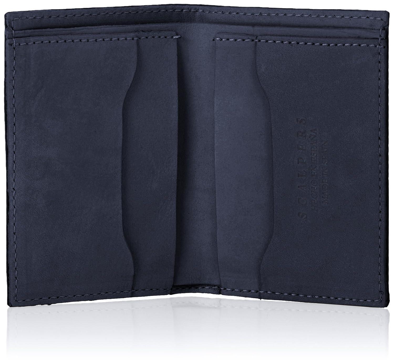Scalpers Waxed Wallet 01, Cartera para Hombre, Navy, UNICA: Amazon.es: Ropa y accesorios