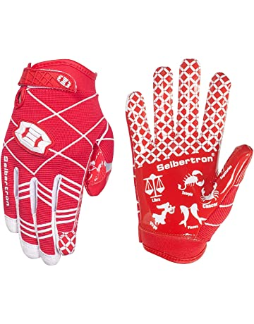 Seibertron Pro 3.0 Twelve Constellations Elite Ultra-Stick Sports Receiver  Glove Football Gloves Youth 18302890bf