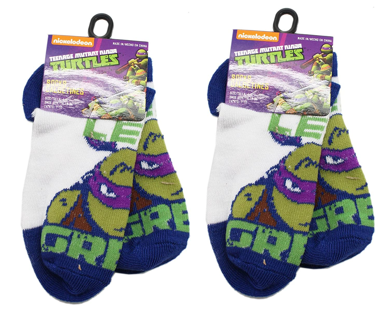 Amazon.com: 2 pares Calcetines de Donatello de las Tortugas ...