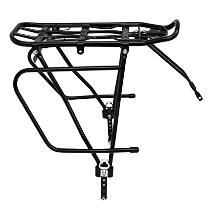 Amazon Com Lumintrail Bicycle Rear Frame Mounted Cargo Rack For