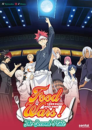 [18+] Food Wars! The Second Plate 720p – 1080p Full Series Download