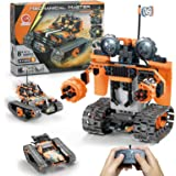 STEM Projects for Kids Ages 8-12, Compatible with Lego Robot Remote & APP Controlled Robots Learning Educational Toys Science
