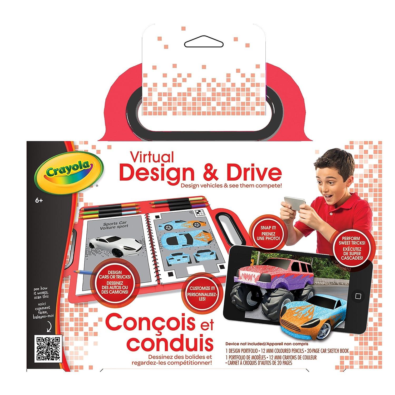 crayola virtual design and drive arts crafts amazon canada
