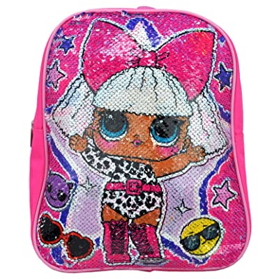 LOL Surprise Mini Backpack with Reversible Sequins -Pink | Kids' Backpacks