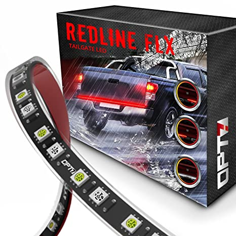Amazon opt7 60 redline flexible led tailgate light bar opt7 60quot redline flexible led tailgate light bar tricore led weatherproof no swarovskicordoba Image collections