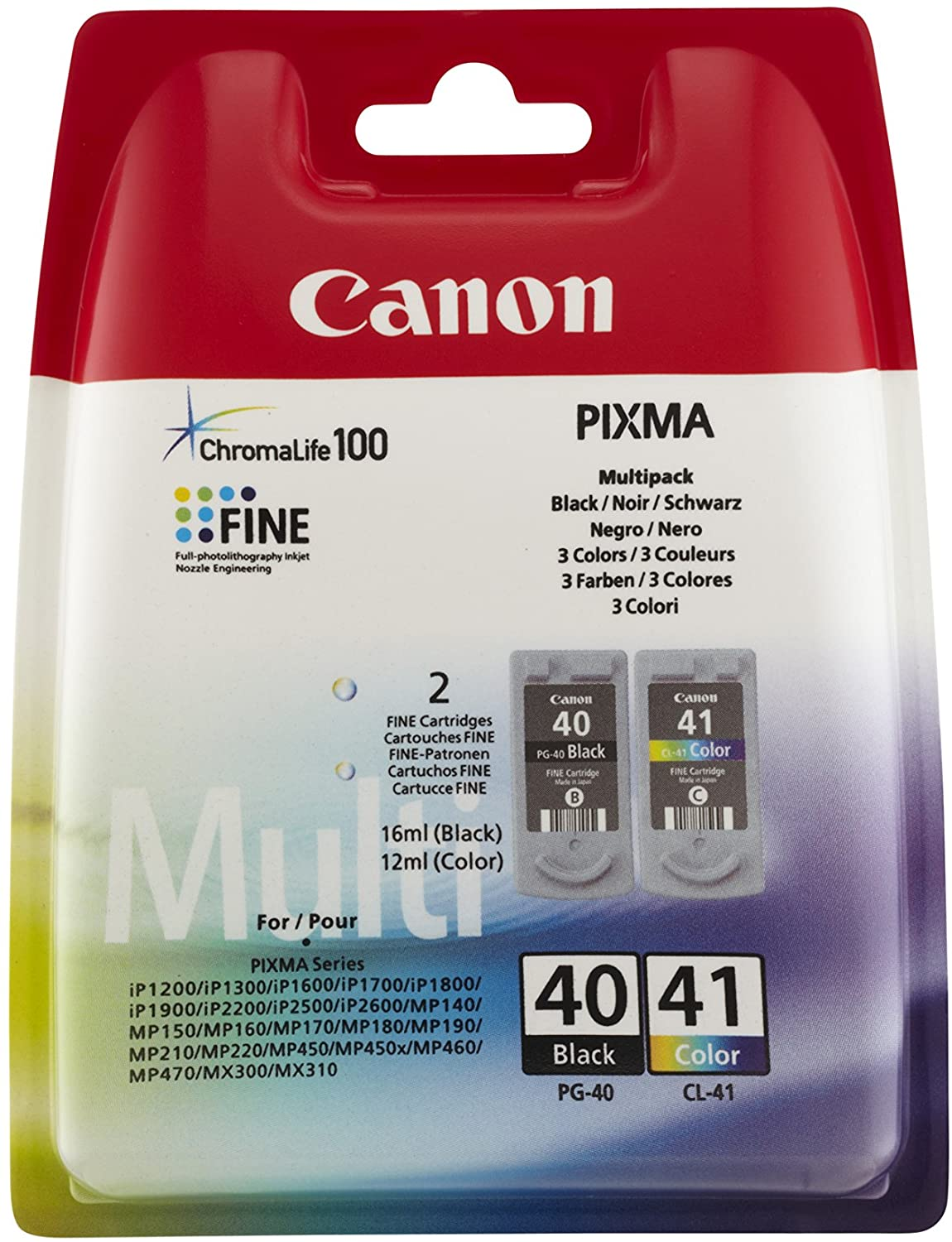 Canon PG-40 CL-41 Ink Cartridge Set