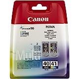1 X Canon PG-40 CL-41 Ink Cartridge Set