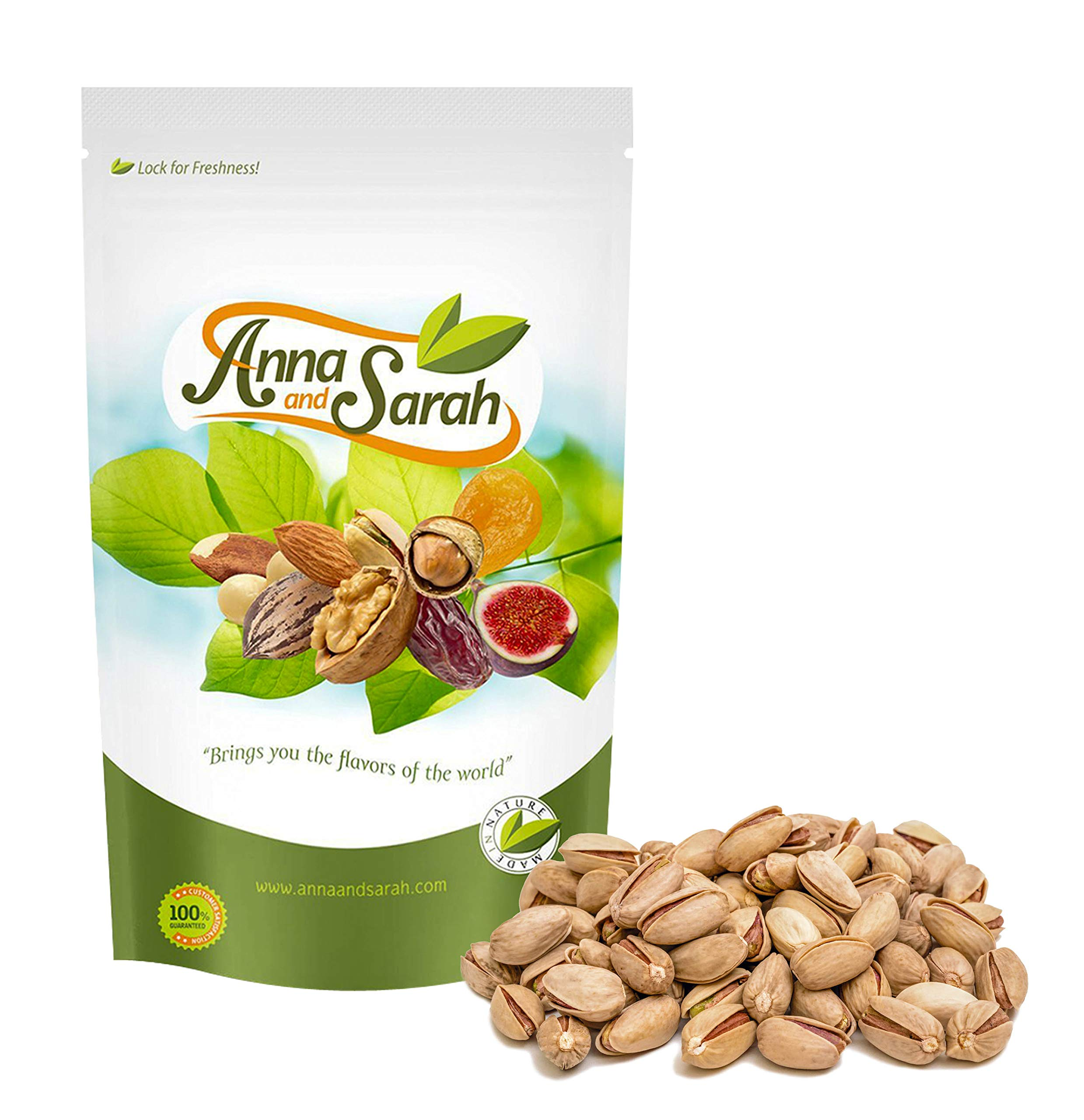 Anna and Sarah Turkish Pistachios Antep 3 Lbs in Resealable Bag by Anna and Sarah (Image #2)