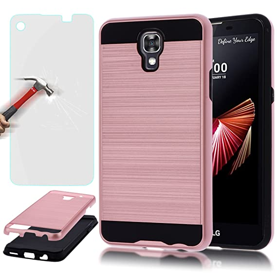 size 40 e59a1 180d5 Amazon.com: LG X Screen Case, LG K500N Case, AUU Slim Impact Hybrid ...