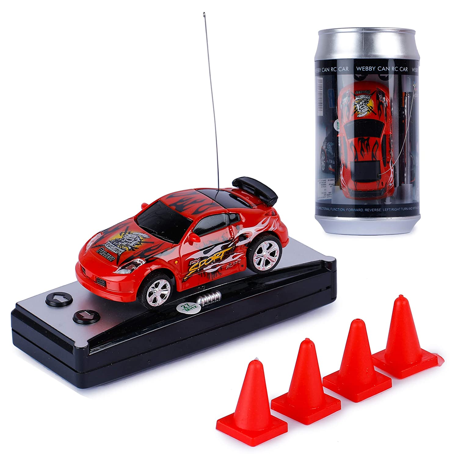 Buy Saffire Mini Coke Can Rc Micro Racing Car Online At Low Prices In India Amazon In