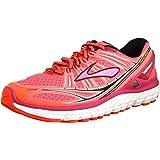 BROOKS Women's Transcend Running Shoes - Size: 5, Pink/black