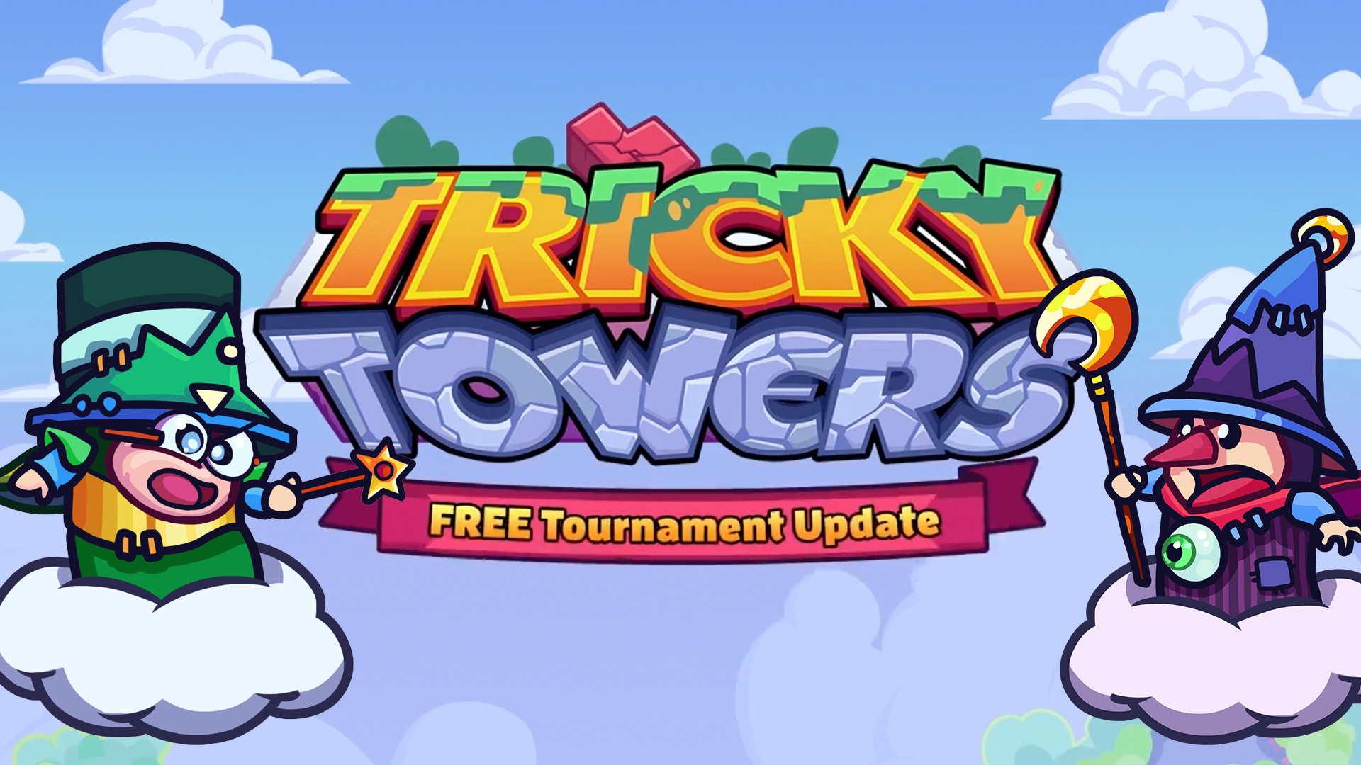 Tricky Towers - Free Tournament Mode Update Trailer