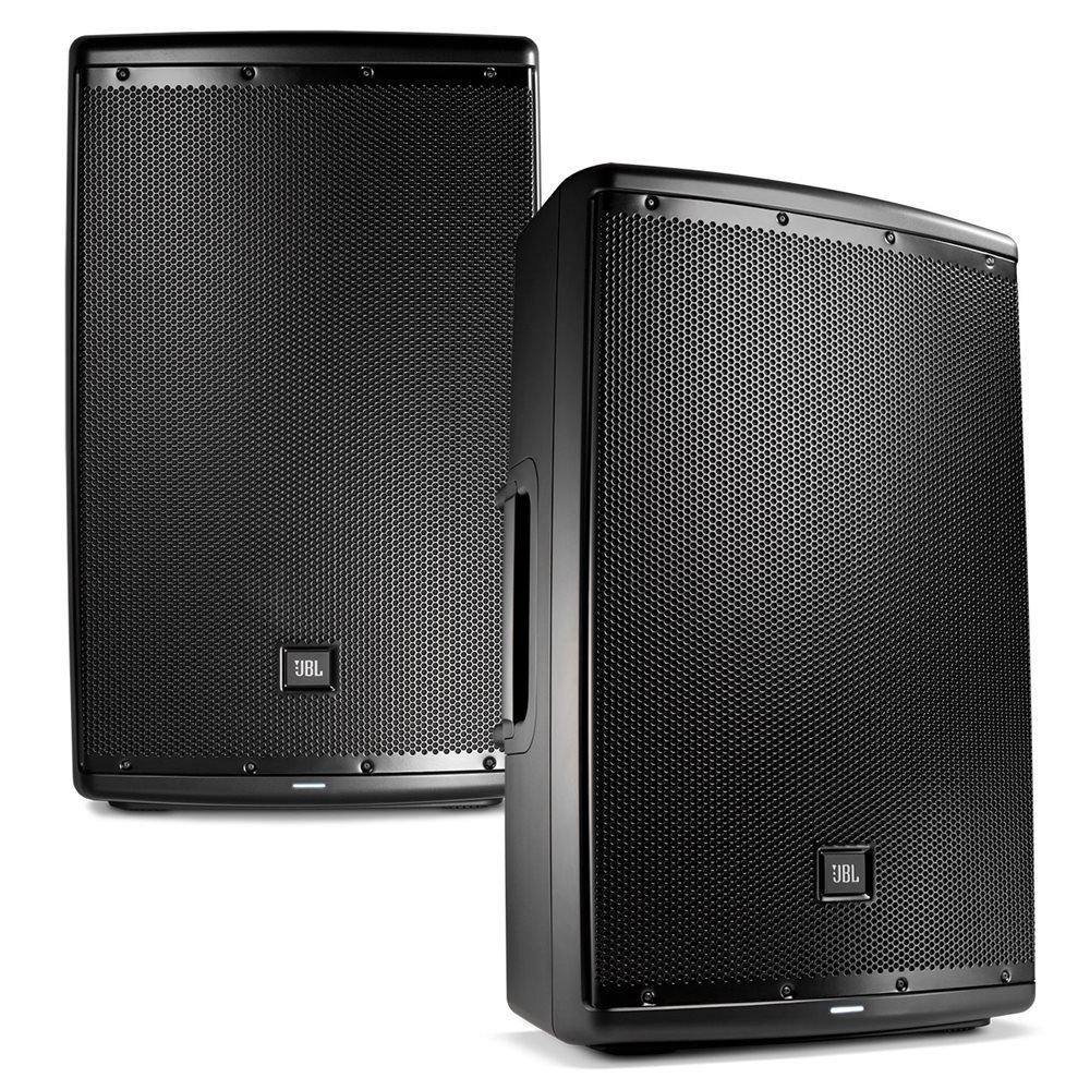 JBL EON 615 15 in Powered PA Speaker Pair Bundle by JBL Pro