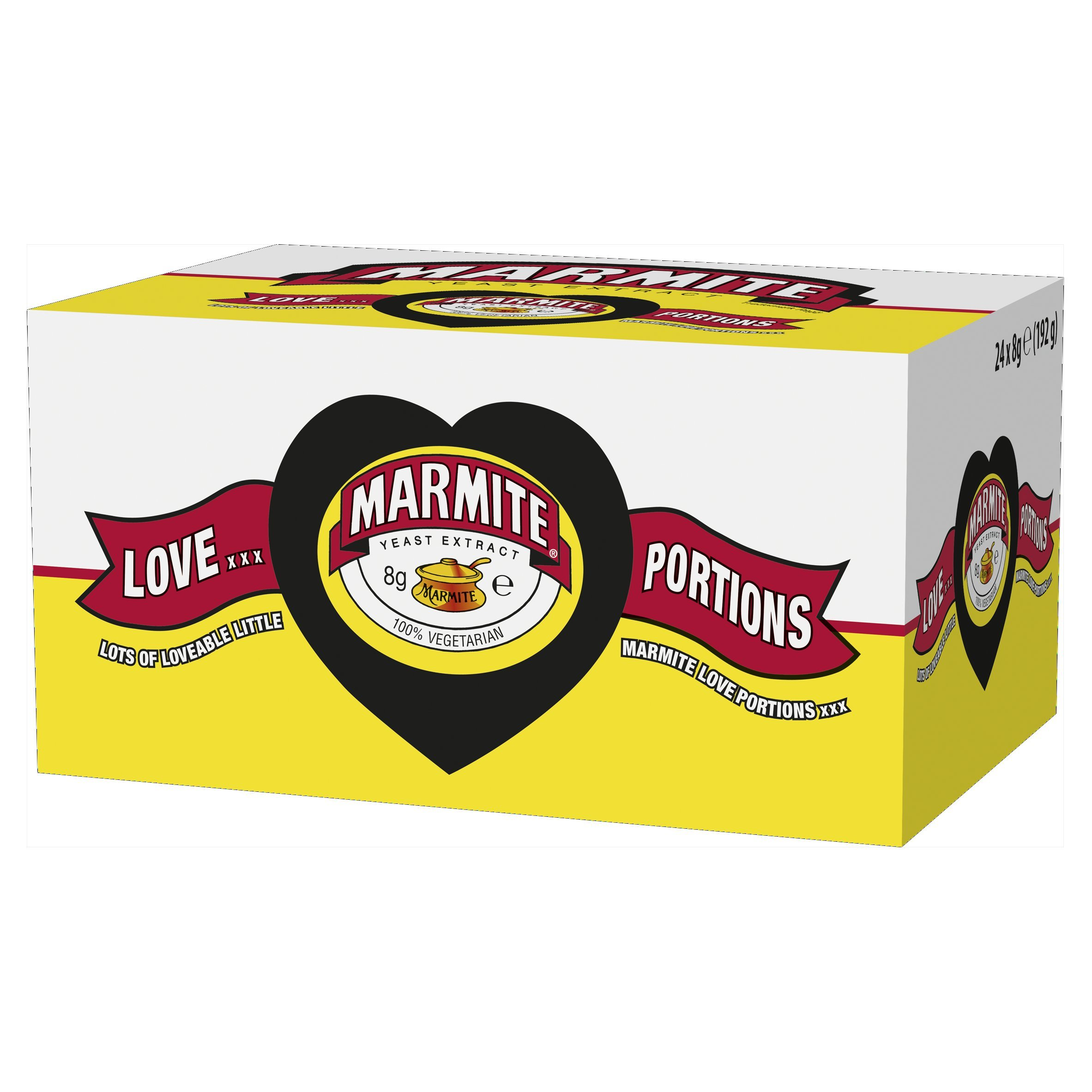 Marmite Yeast Extract Portions 24 x 8g 192g