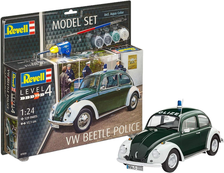 """VW T1 Samba Bus /""""Lufthansa/"""" Oldtimer 1:24 Revell 07436"""