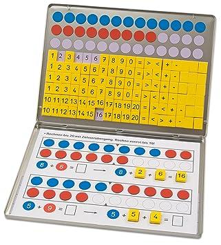 Betzold 42637 - Rechen-Magnetbox 1, 2, 3 - Zahlenzauberei mit 30 ...