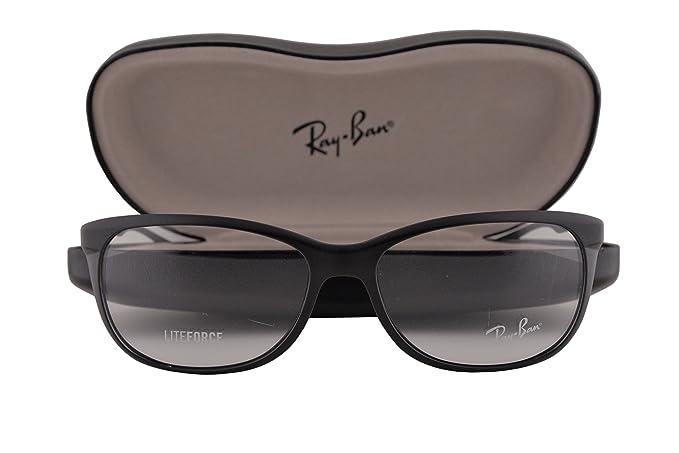 5eb6e3523a305 Ray-Ban RX7024 Eyeglasses 54-16-145 Matte Black 5204 RB7024 RX 7024 ...