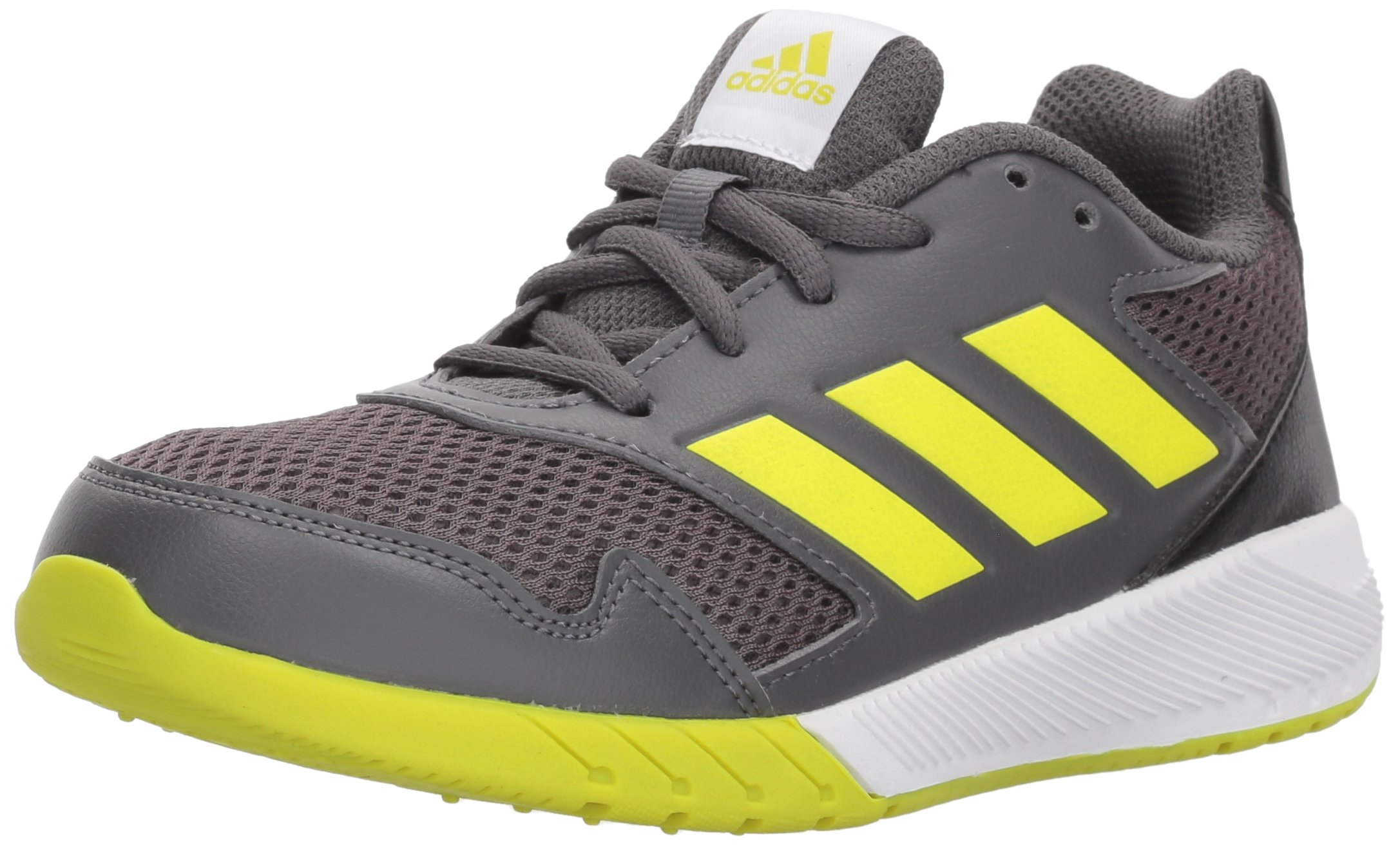 adidas Kids' Altarun, Grey Five/Semi Solar Yellow/Core Black, 3.5 M US Big Kid