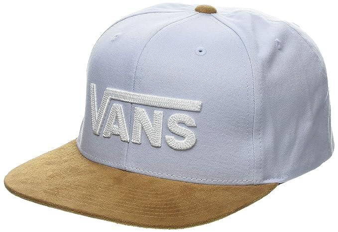 Vans Herren Drop V Ii Snapback Baseball Cap Grau/Braun