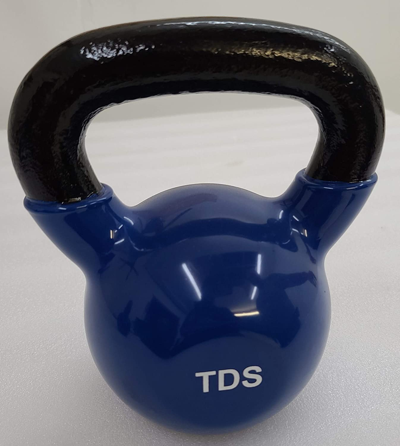 Vinyl Coated Kettlebell for workouts Gym Quality Strength Training 40 LB
