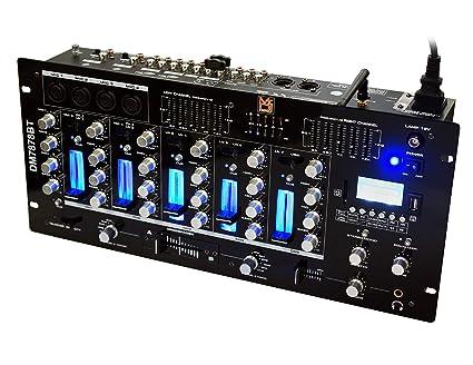 Amazon.com: Mr. Dj DM7878BT - Mezclador de 6 canales DJ con ...