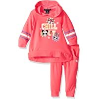 Limited Too Baby-Girls Pullover Fleece Jog Set Layette Set - Multi