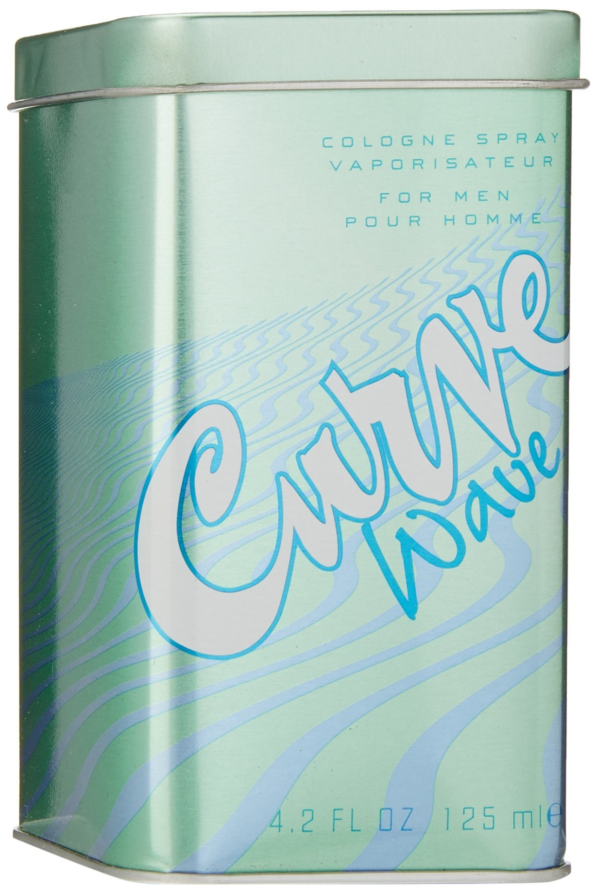 Curve Wave by Liz Claiborne for Men, Cologne Spray, 4.2-Ounce