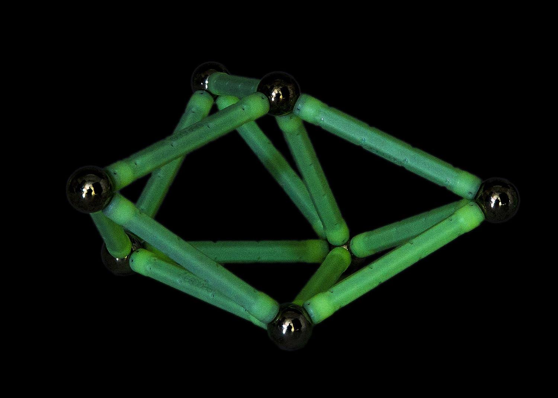 Geomag- Glow Construcciones magnéticas y juegos educativos, Multicolor, 30 piezas (335): Amazon.es: Juguetes y juegos