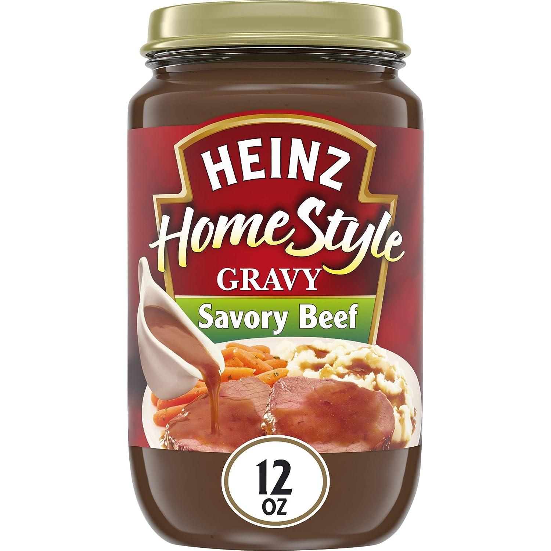 Heinz Homestyle Savory Beef Gravy (12 oz Jar)