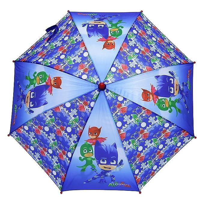 New import, 100-236, Paraguas Pj Masks, paraguas infantil pj masks, mango rojo: Amazon.es: Ropa y accesorios
