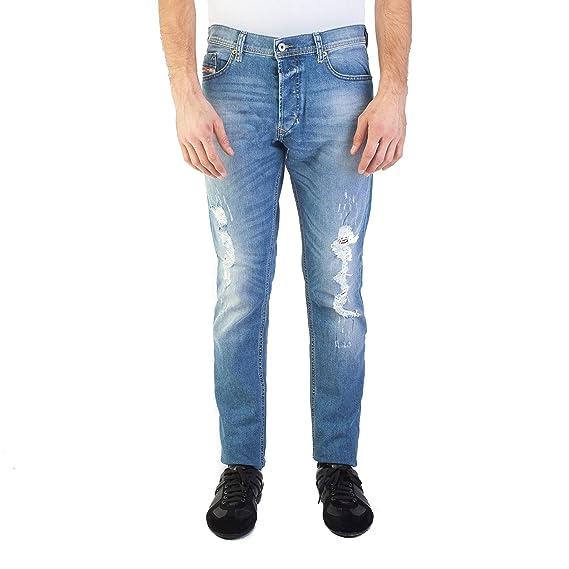 1ec6a0dd Diesel Men's Tepphar 84FT Slim Carrot Jeans 98% Cotton 2% Elastane Brand New