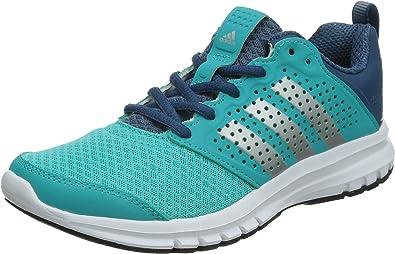 adidas Madoru W - Zapatillas de Running para Mujer, Color Azul/Plata/Blanco, Talla 38: Amazon.es: Zapatos y complementos