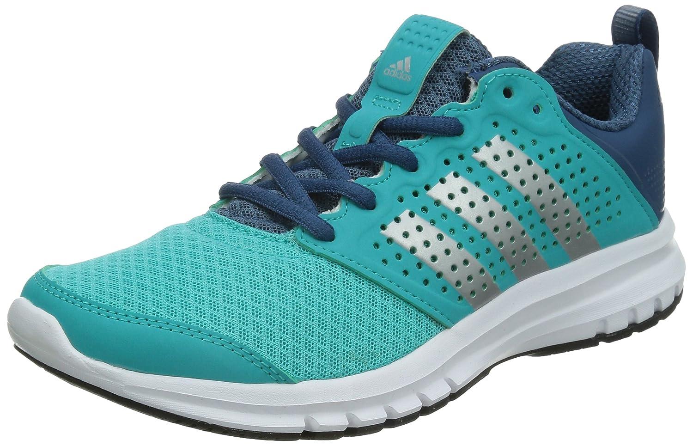 Adidas Madoru W Scarpe da Corsa, multicolore (blu/argento/bianco), taglia 38 2/3