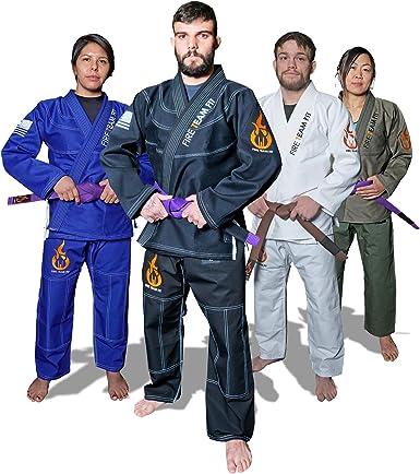 BRAWL BJJ Gi Men Uniform Brazilian Jiu Jitsu Kimono Suit Blue A0 A1 A2 A3 A4 A5